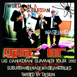 Flyer - Twisted In A Suburban Wasteland Tour