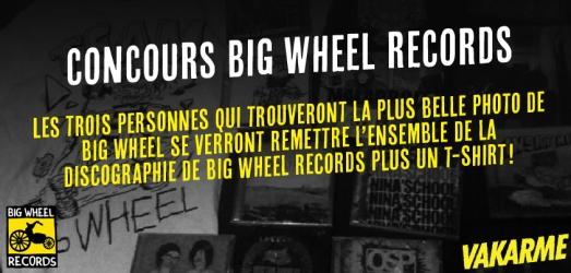 Concours Big Wheel Records