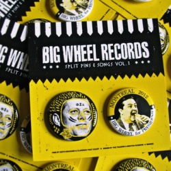 Big Wheel Records Split Pins & Songs Vol. 1: The Traders / Brixton Robbers