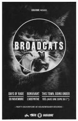 Flyer - Lancement 7 Pouces de Broadcats