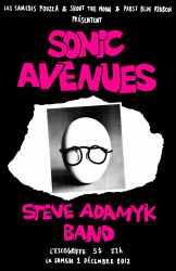 Flyer - Sonic Avenues