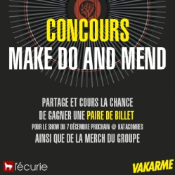 Concours Make do And Mend