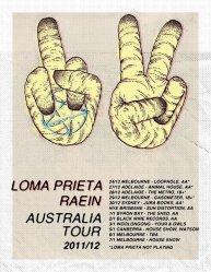 Flyer - Loma Prieta / Raein