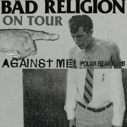 Bad Religion, Against Me! et Polar Bear Club 30 mars Métropolis
