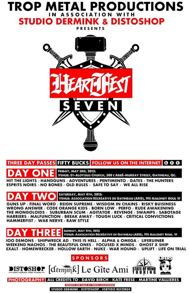 Flyer Heart Fest 7 2013