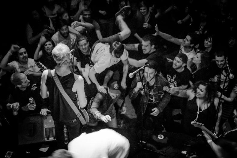 Pouzza Fest 2013 - Show Secret de Dead To Me, Samedi