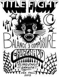 Title Fight, Balanace And Composure, Cruel Hand