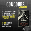 [CONCOURS] Exalt, Old Wounds, Lifespent et In Beliefs