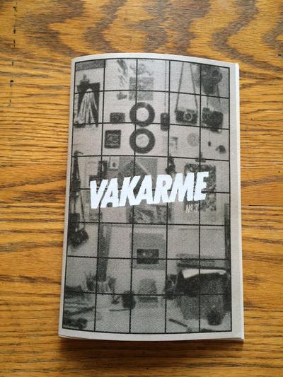 Commandez la troisième édition du zine Vakarme dès maintenant!